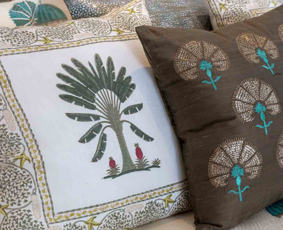 Mysore Cotton Bed Cover Good Earth l The Past Perfect Collection l Singapore