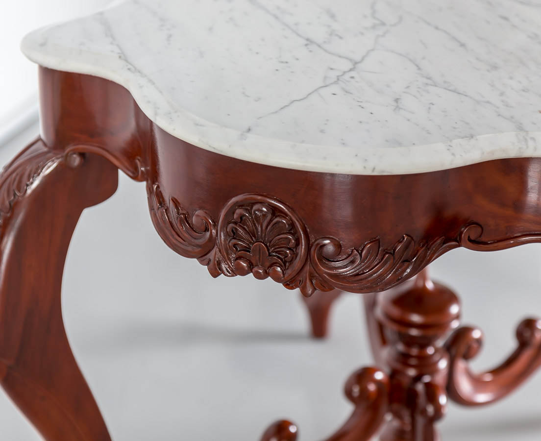 TAB-382 5L British Colonial Mahogany Center Table l The Past Perfect Collection l Singapore