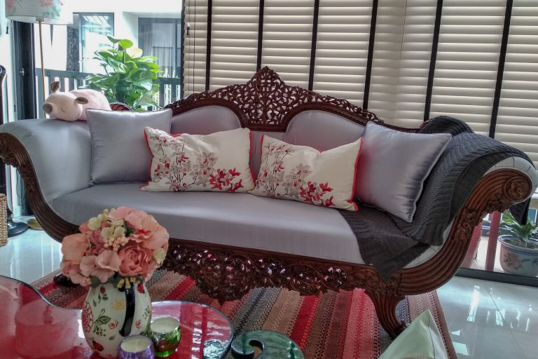 Interiors We Love - Love at First Sight: A Walnut Sofa l The Past Perfect Collection l Singapore