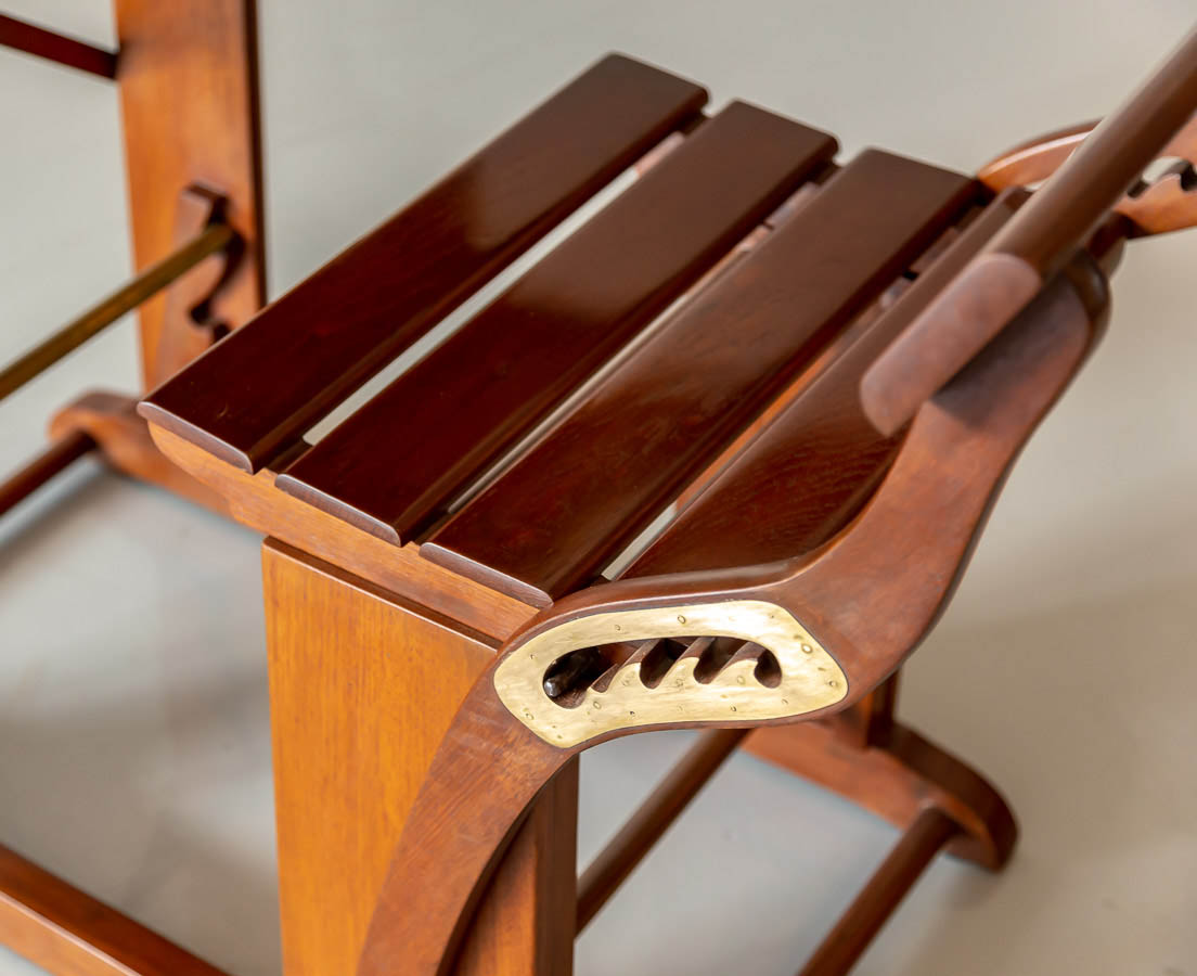 Anglo-Indian Teakwood School Desk l The Past Perfect Collection l Singapore